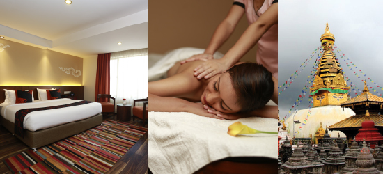 ROOM, CITY SIGHTS & SPA PACKAGE