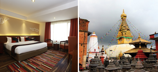 ROOM & CITY SIGHTS PACKAGE